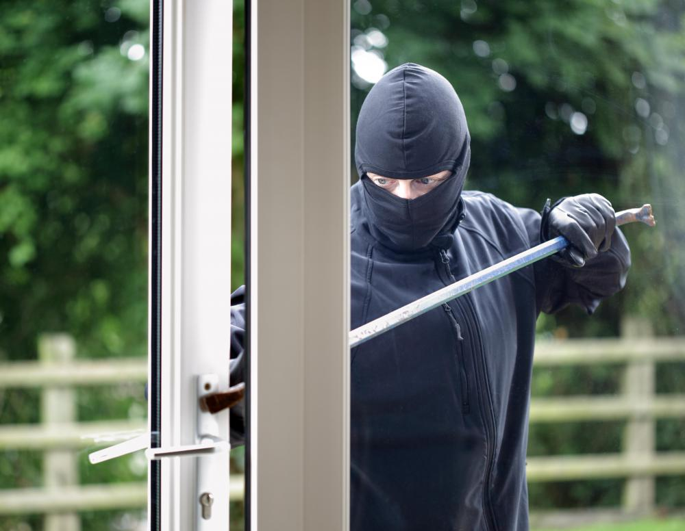 Criminal investigations are conducted to uncover information about a crime, such as a burglary.