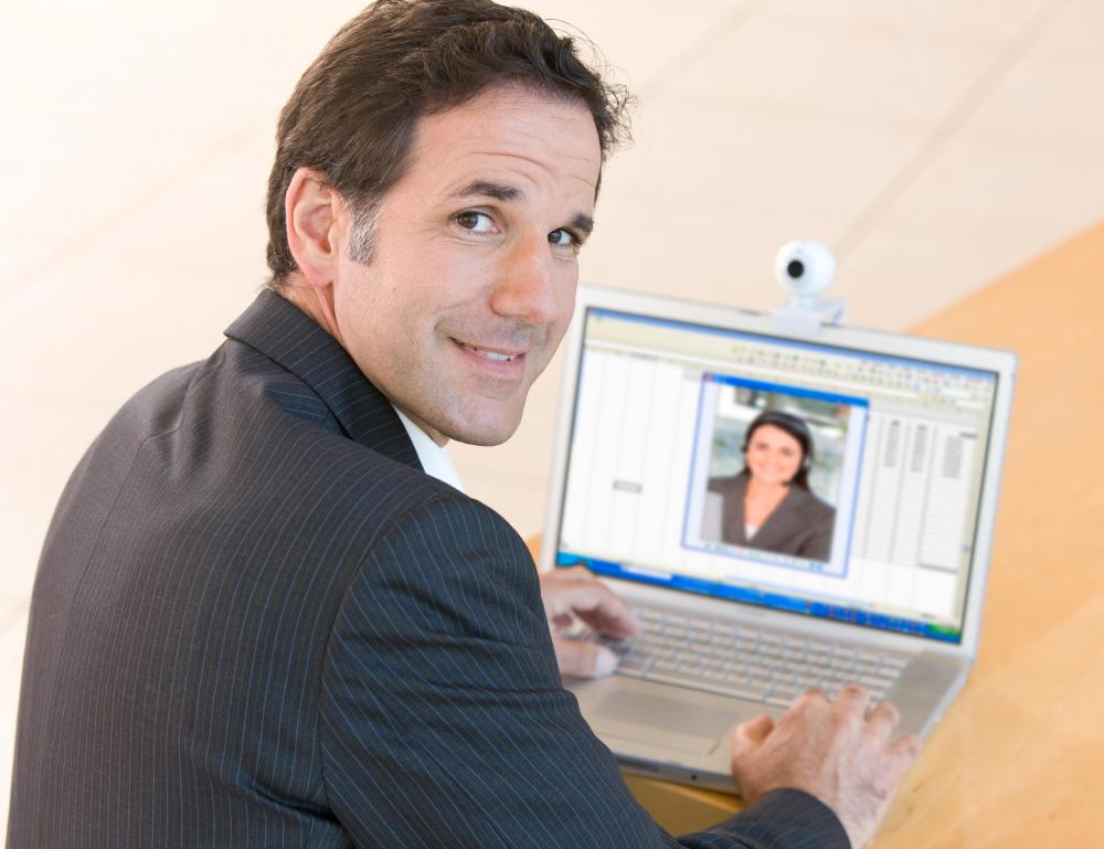 Teleconference services might help professionals with video conferencing.