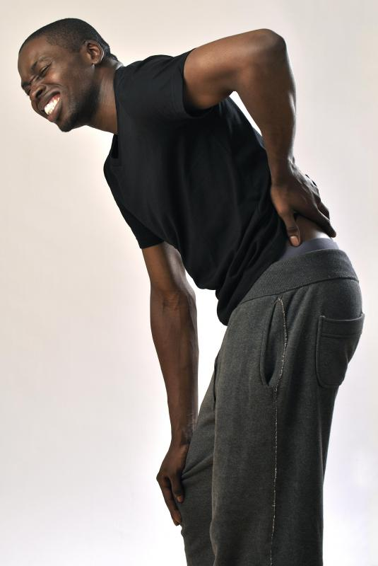 Aches and pains in the lower back may be symptomatic of a large mucinous cystadenoma.