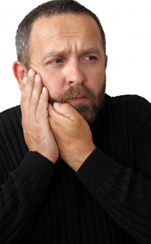 A person suffering from Bell's palsy may experience jaw pain.
