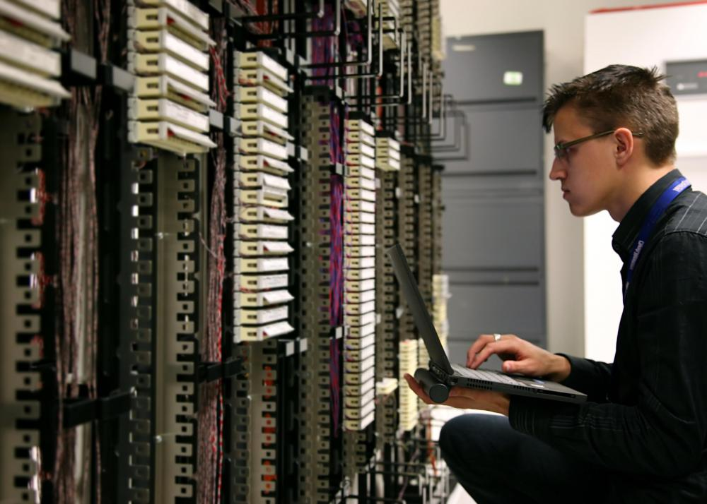 Network administrators are tasked with maintaining an entity's telecommunications network.