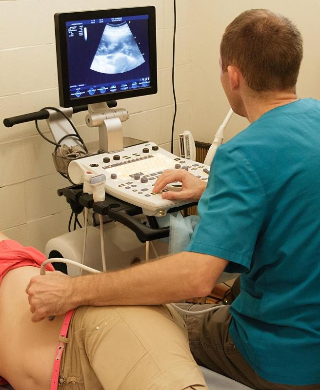 An ultrasound can be used to detect gallbladder and liver conditions.