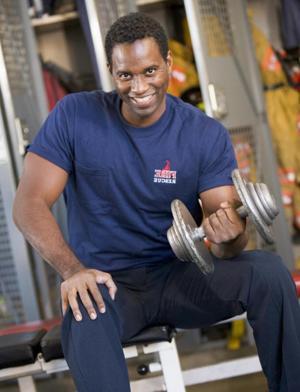 A type of flexion exercise, wrist curls strengthen the muscles of the forearms.