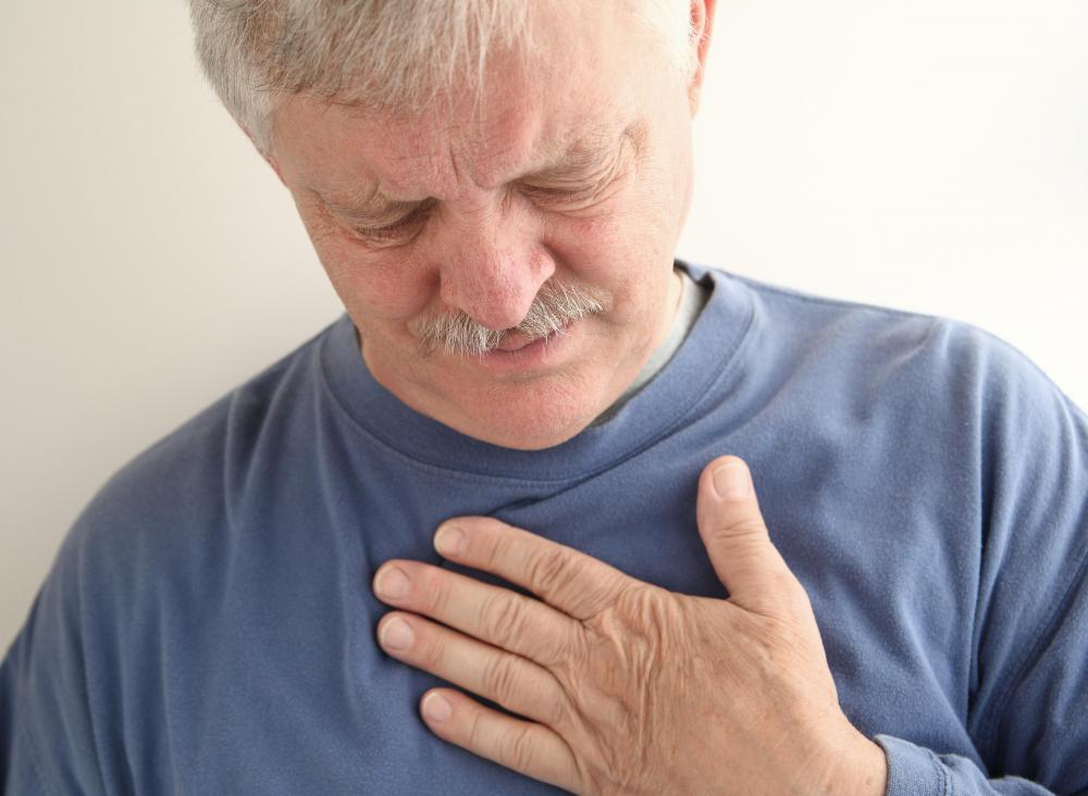 An individual suffering with a bilateral pleural effusion will commonly experience chest pain.