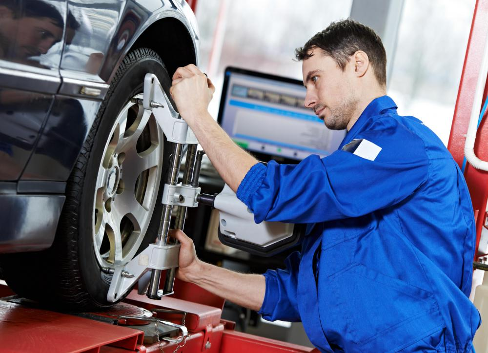 Training to become an auto mechanic often starts with learning about how to perform basic vehicle maintenance.
