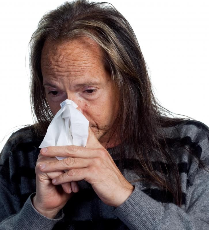 Signs of an allergic reaction may include runny nose.