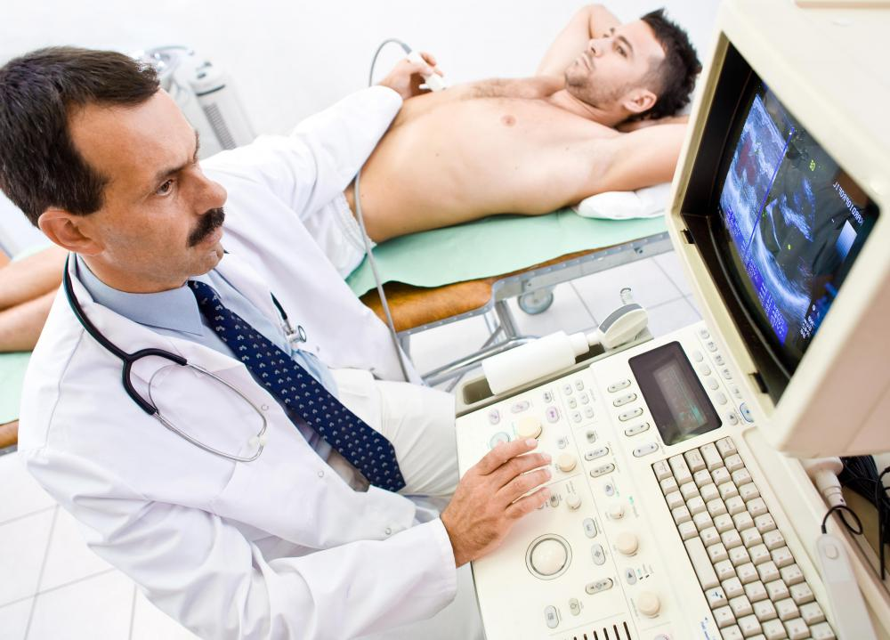 An ultrasound can be used to investigate an enlarged spleen.