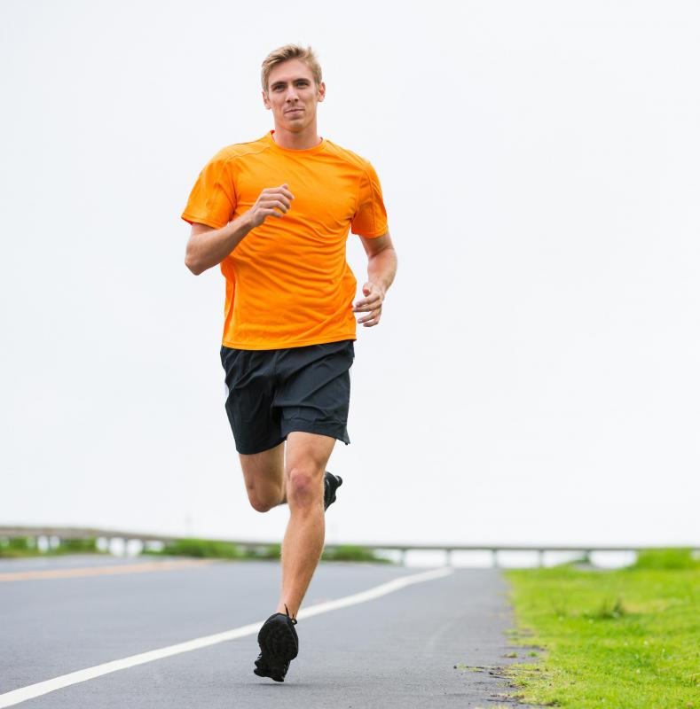 Runners may experience a high caused by the effects of endorphins.