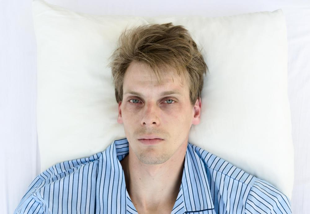 Sleeplessness is a sign of a hypomanic state.