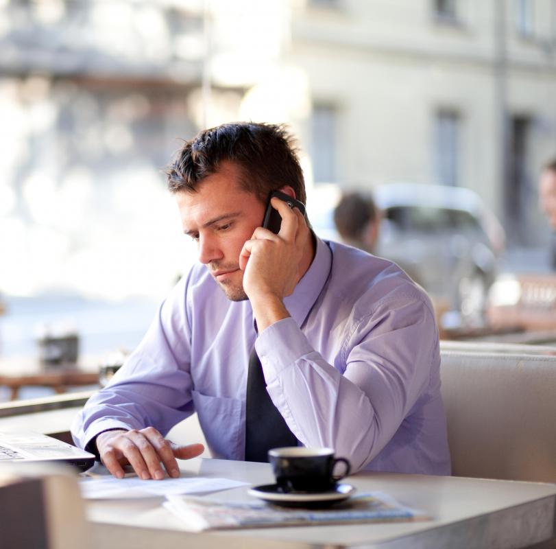 A phone call may be used to inform someone that he or she was not hired for a job.
