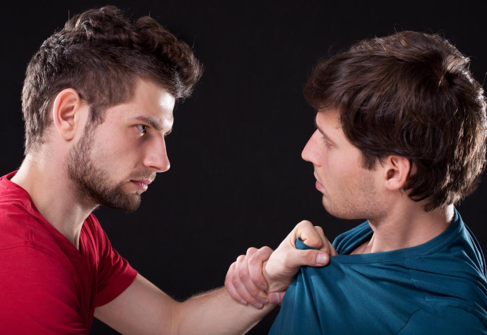 Someone with a dominant personality may become aggressive towards others who threaten their authority.