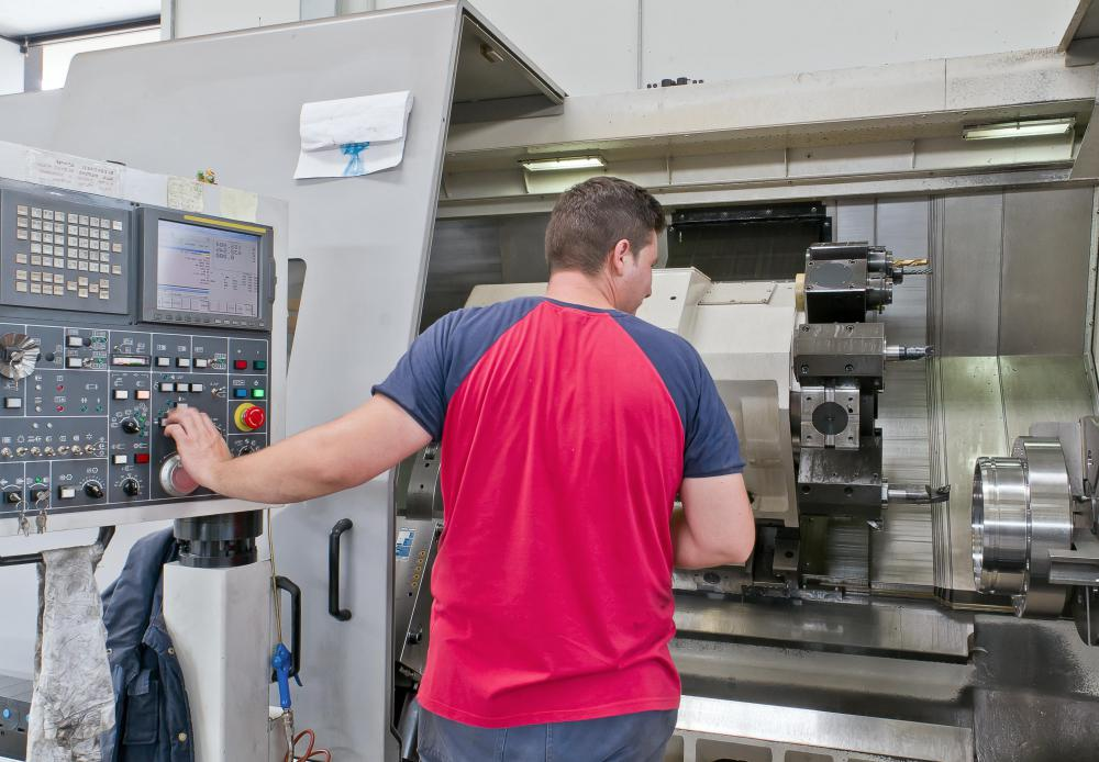CNC milling machines must be programmed and tested by trained operators.