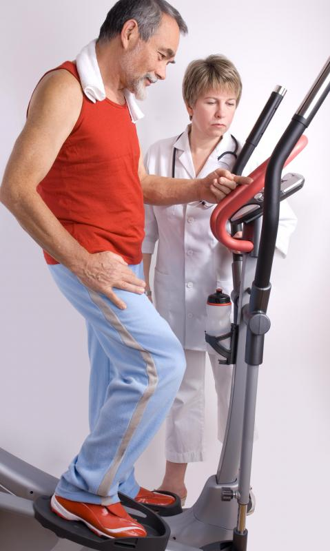 A doctor may ask a patient to exercise prior to a cardiac ultrasound.