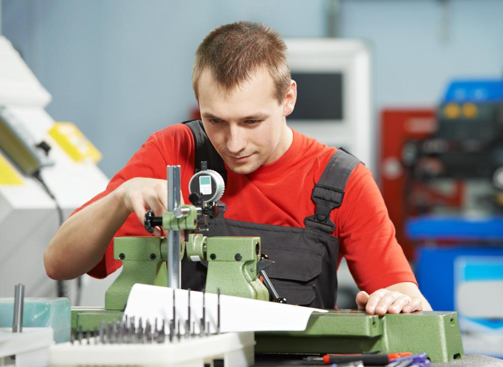 Ergonomics may help prevent repetitive motion injuries in industrial workers.