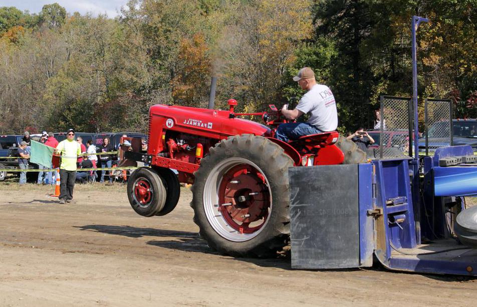 People may use tractors to participate in recreational sports such as tractor pulling.