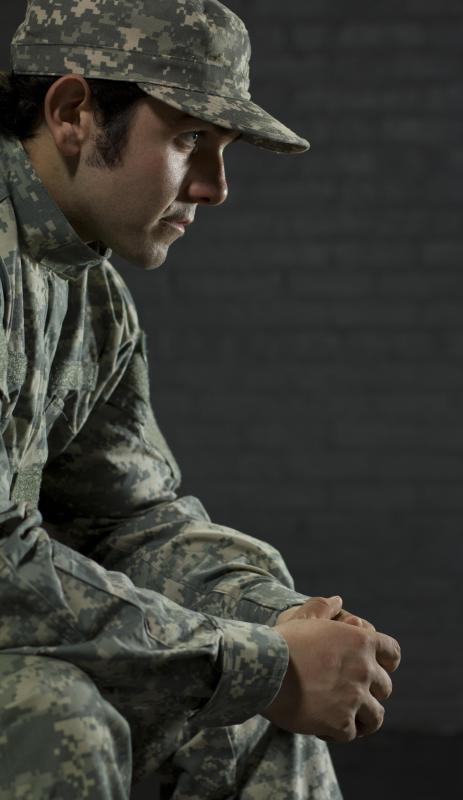 Soldiers returning from duty make up a large percentage of the unemployed population.