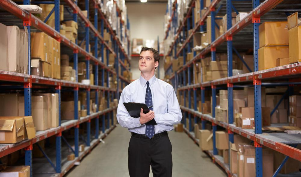 A warehouse manager is responsible for overseeing the distribution and sales of goods.