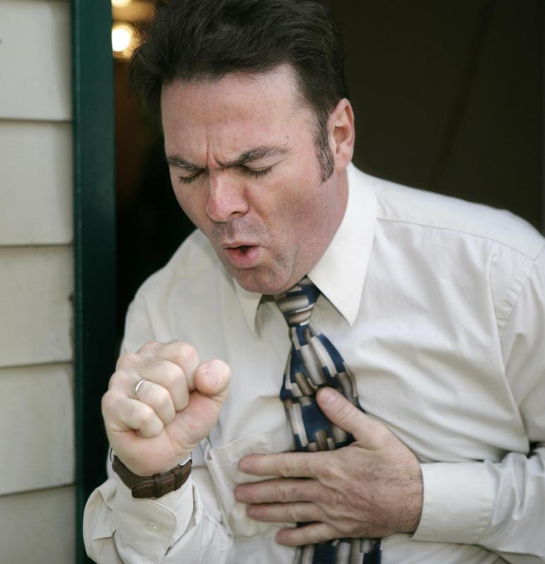 Damaged cilia often result in an unproductive cough.