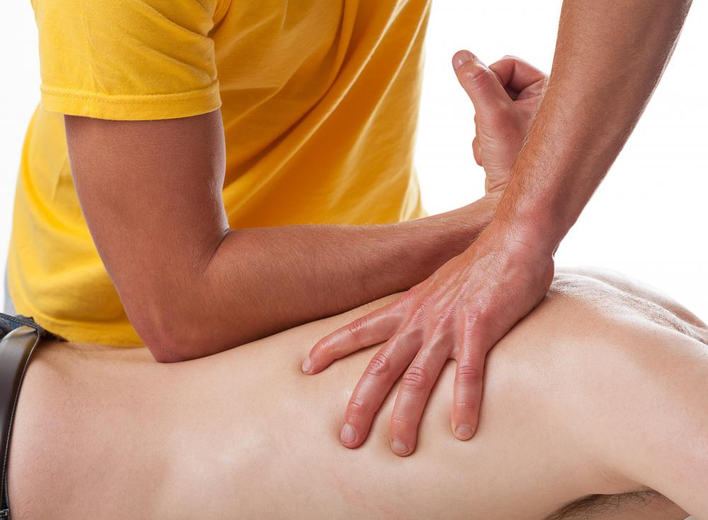 Massages can be done for relaxation or physical therapy purposes.
