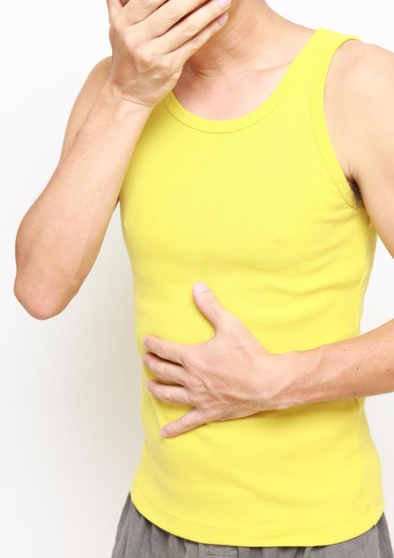 Symptoms of an abdominal tumor may include weight loss and abdominal pain.