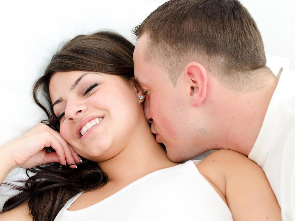 Someone in a rebound relationship may be overly affectionate to compensate for the lost relationship.