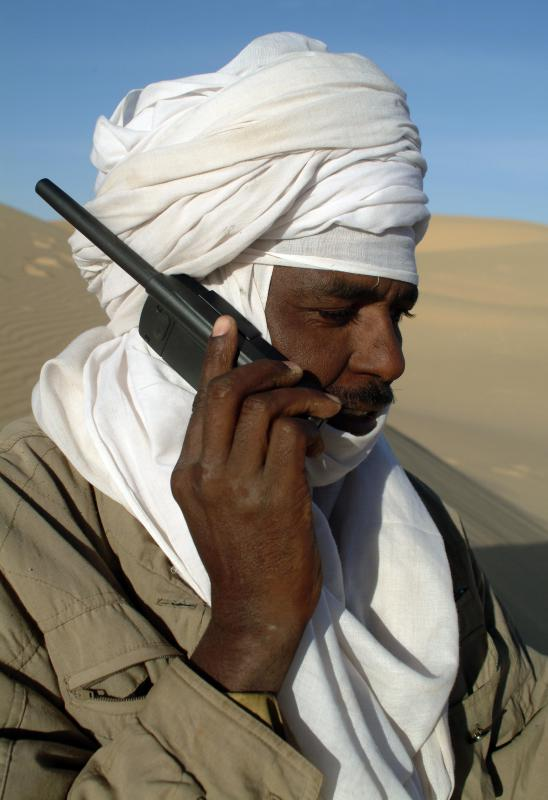 Satellite phones are gadgets that rely on a satellite network.