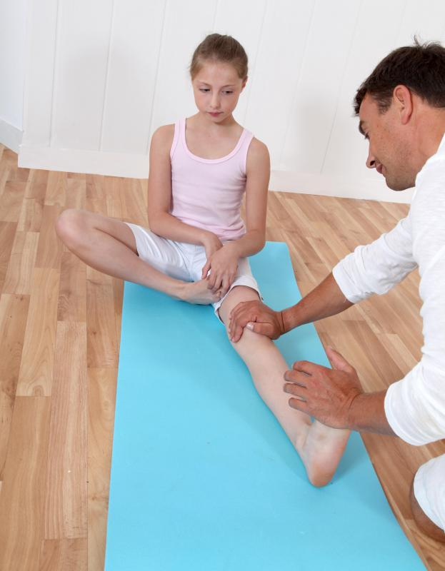 Occupational therapy can assist a patient in the recovery of day-to-day skills, such as walking.