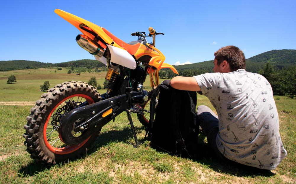 Motorcross involves the use of motorcycles that were originally designed for cross country use.