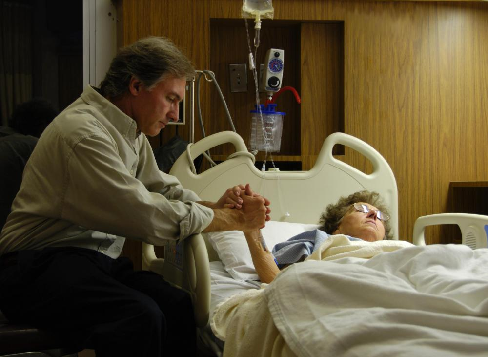 Palliative care facilities often assist the relatives of patients through emotional support.