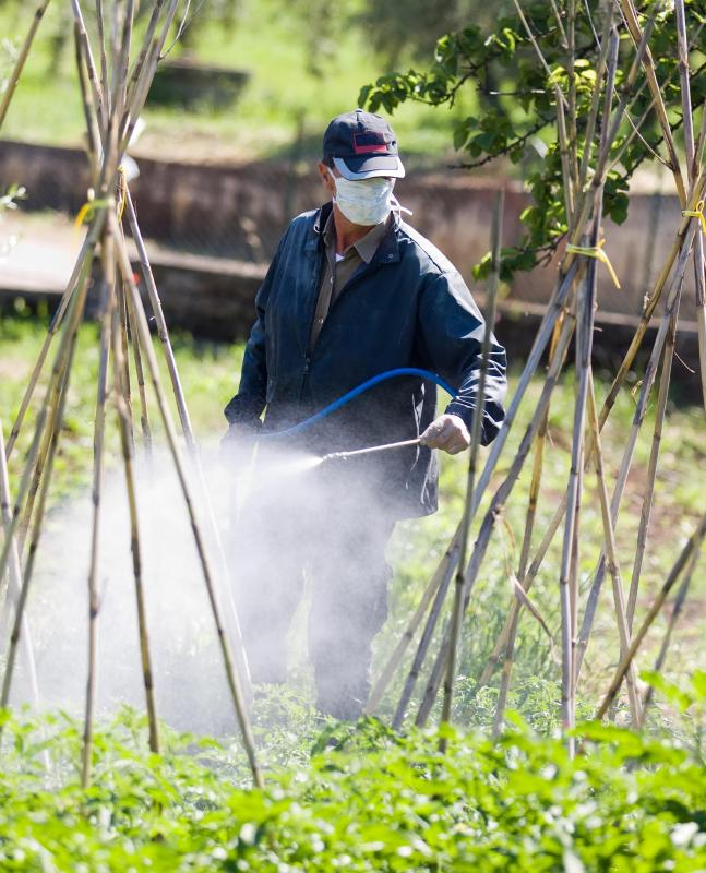 Exposure to pesticides may lead to a low sperm count.