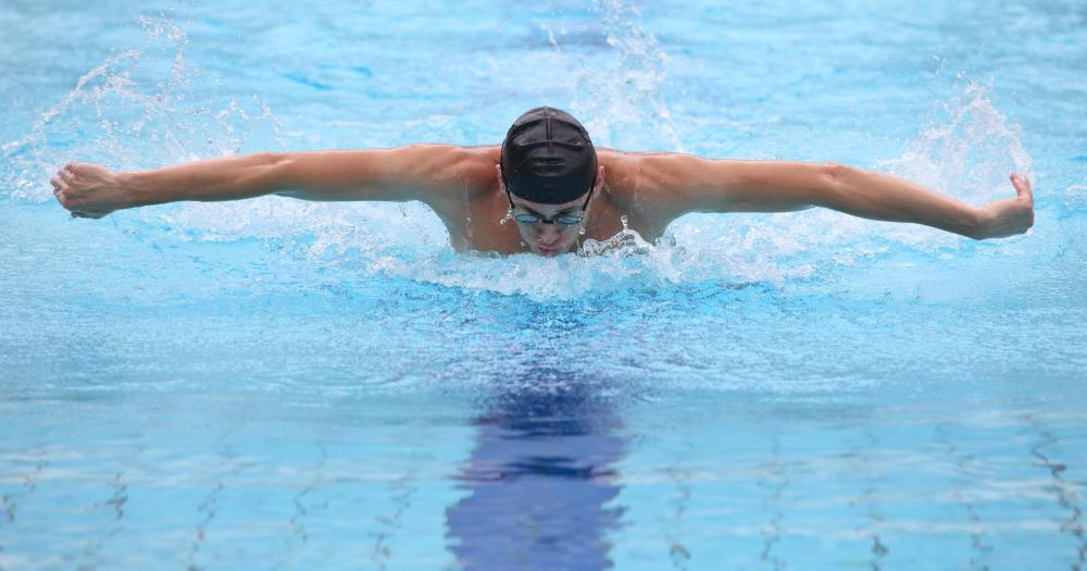 Racing is popular among competitive swimmers.