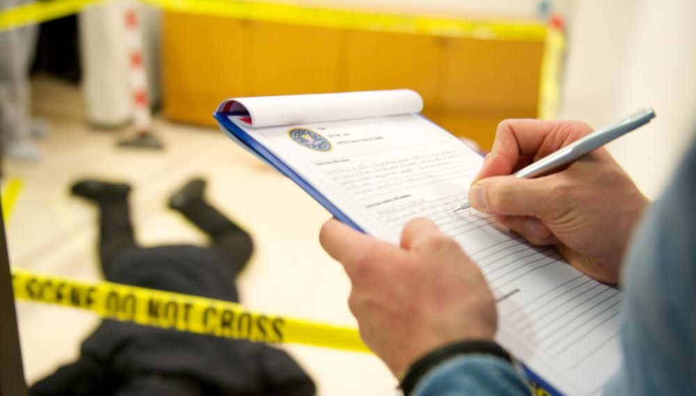 DNA tests can identify suspects at a crime scene.