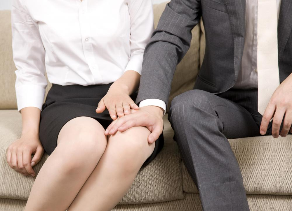 Pervasive unwanted touching creates a hostile workplace.