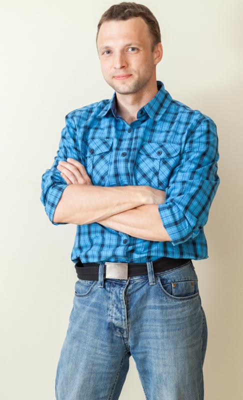 Although it has rural origins, flannel shirts are considered urban clothing as well.
