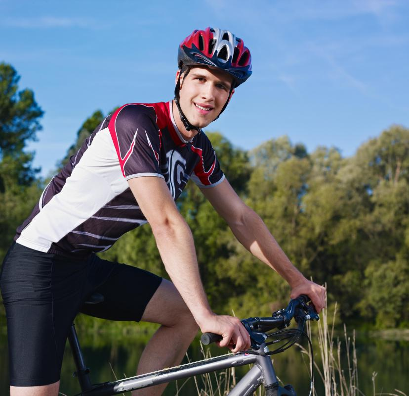 A helmet is one of the most important pieces of equipment a bicyclist can have.