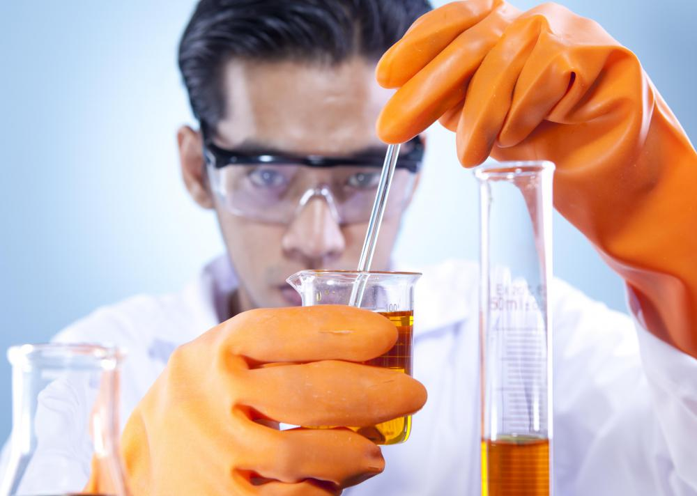 Many pharmaceutical engineers have an extensive background in chemistry.