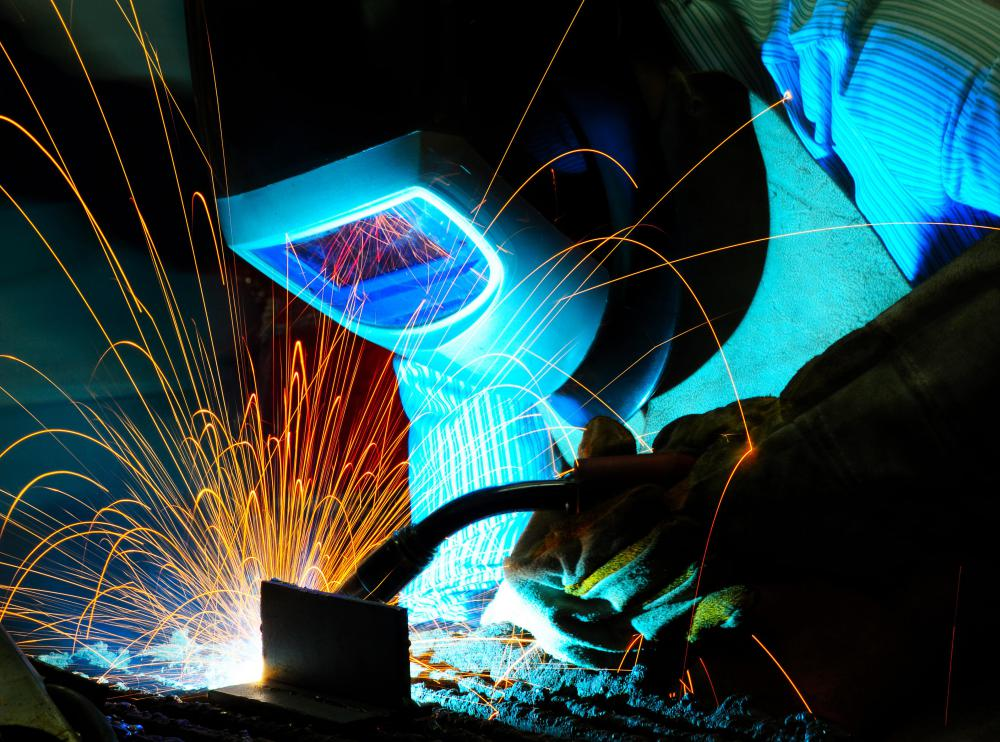 A seal weld may be installed by a welder to prevent gases or fluids from entering off-limit areas.