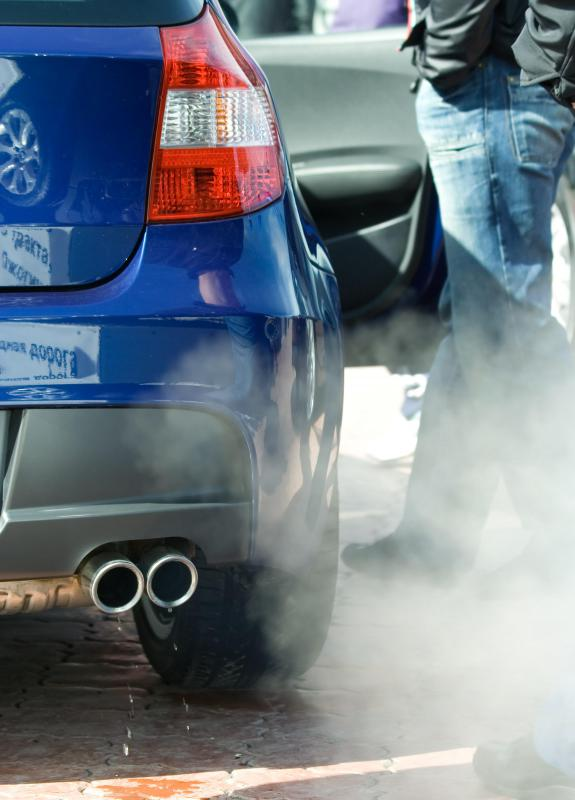 Conventional cars use more gas and produce more exhaust than hybrid cars.