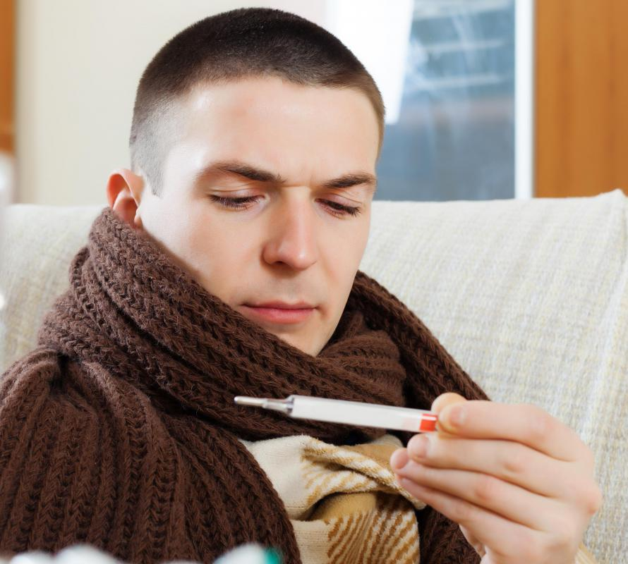Chills and a fever are among the side effects of interleukins therapy.