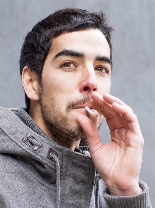 Smoking may increase an individual's chance of developing inflammation of the arteries.