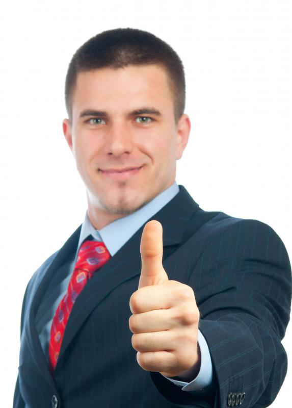 Giving a thumbs up is a positive, non-verbal form of communication.