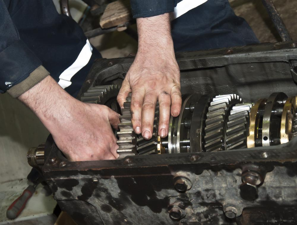 A qualified mechanic should perform a transmission flush.