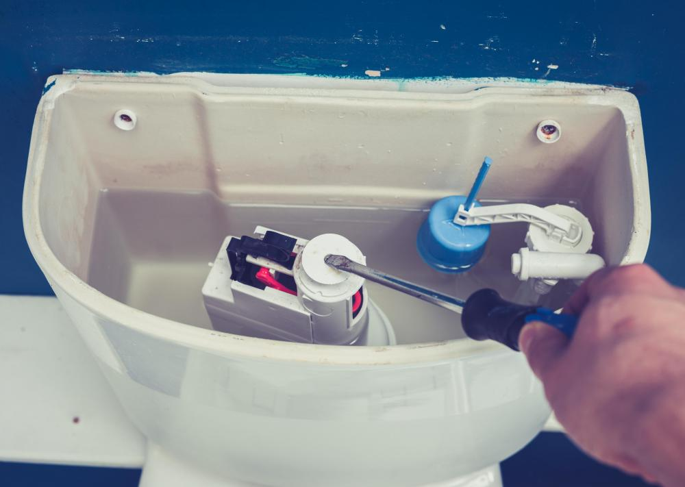 A toilet flapper is basically a rubber valve that covers the pipe running between the toilet tank and the bowl of the toilet.