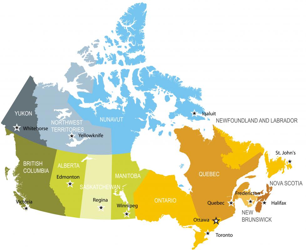Most of Canada operates on a common law system while the province of Québec uses a civil law system.