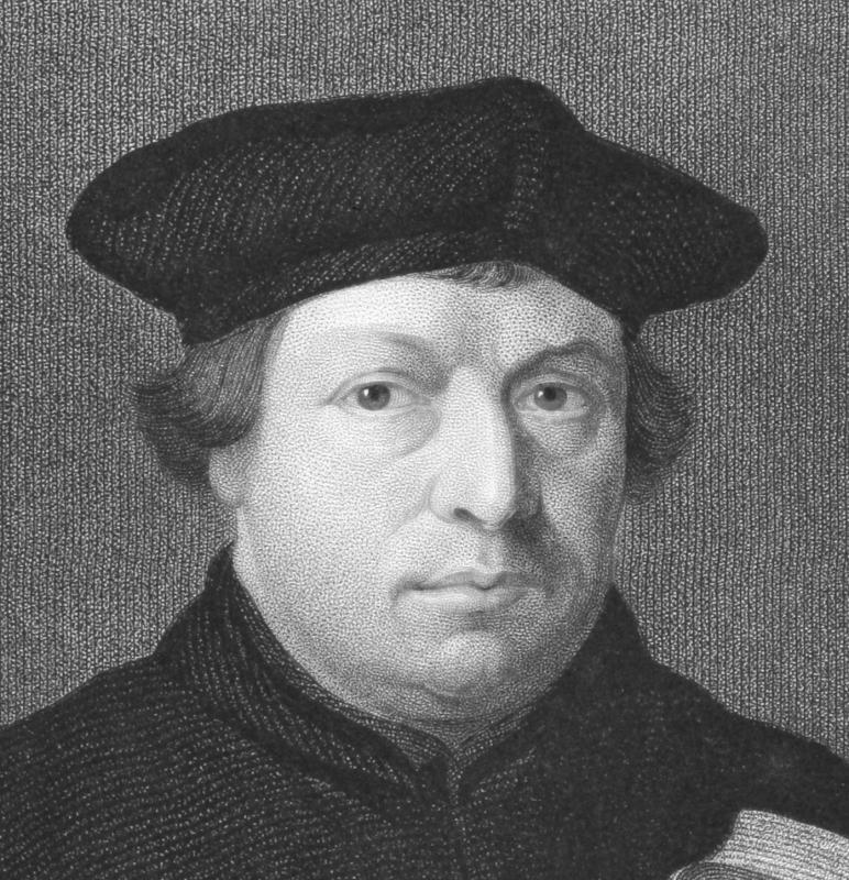 Martin Luther is considered the man who started the Protestant Reformation in 1517.