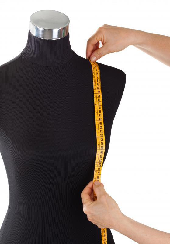 Bespoke clothing is customized to fit a person's precise body measurments.