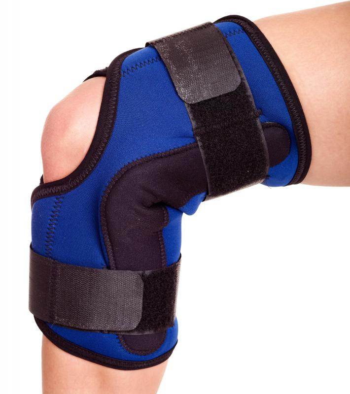 Neoprene may be used in medical braces.