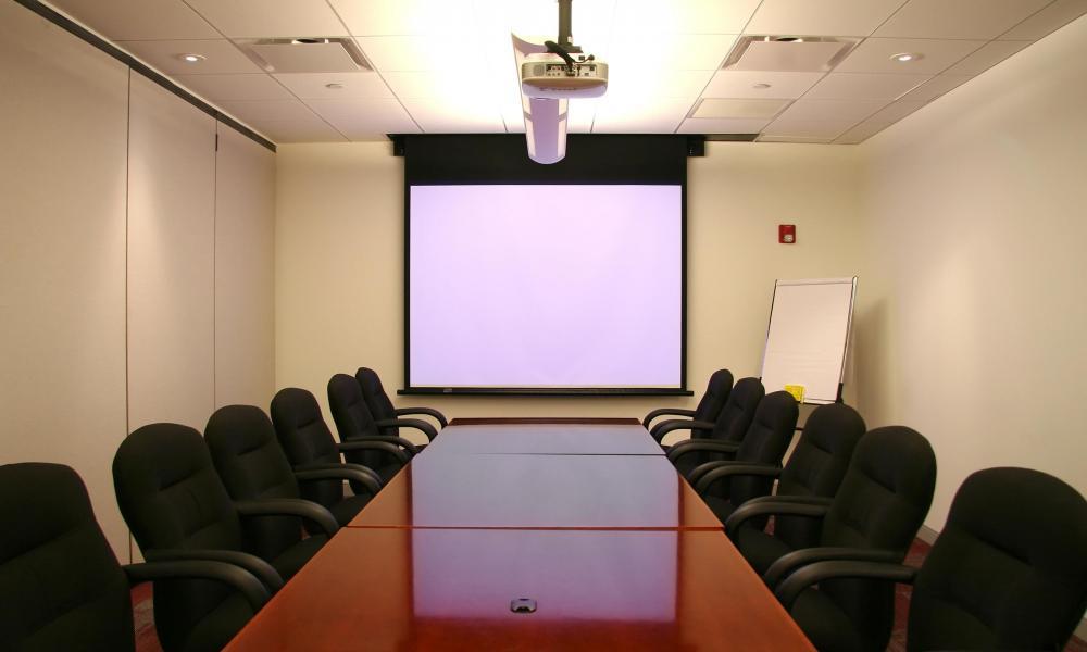 Floor outlets are common in conference rooms, where audio visual equipment can be plugged in without needing an extension cord.