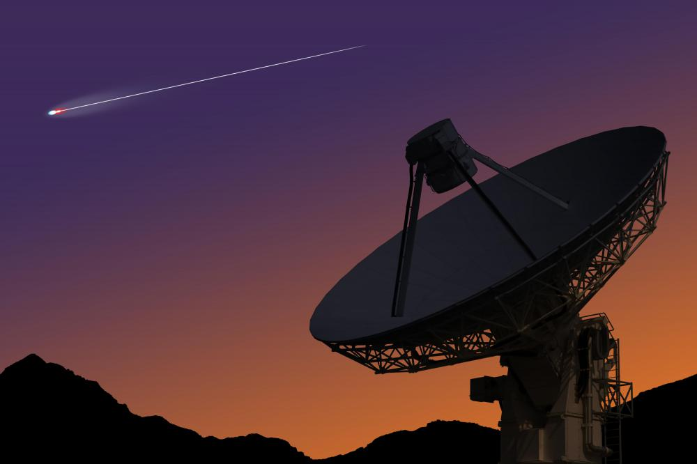 Radio telescopes can be used to study the universe and celestial objects.
