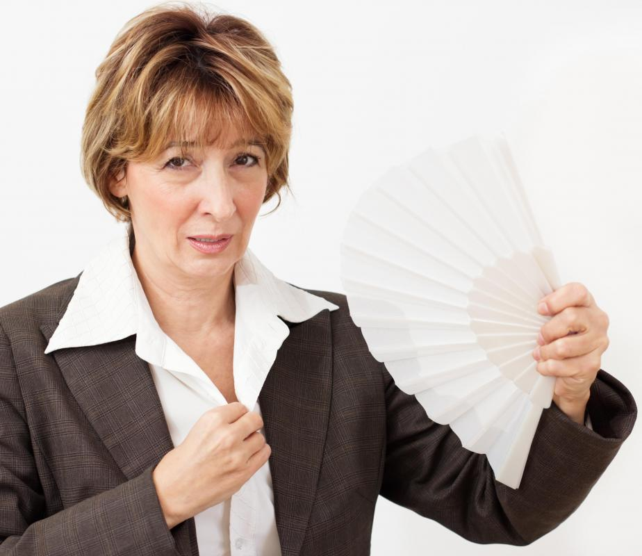 Hormone fluctuations can case hot flashes.